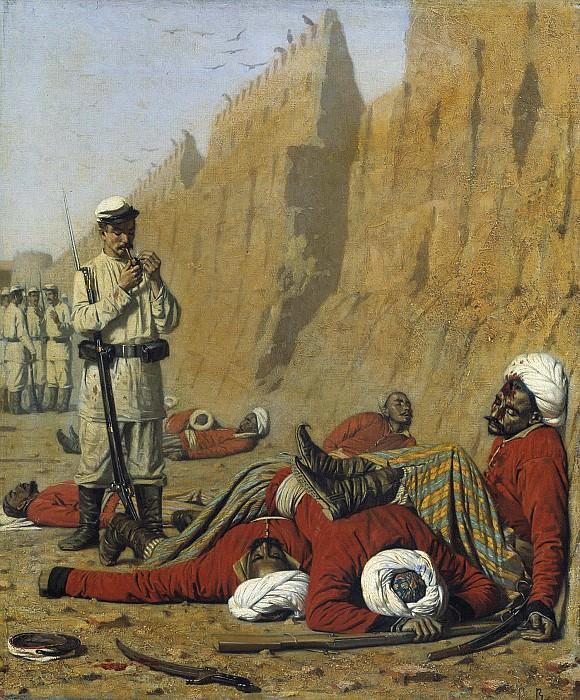После неудачи 1868 Холст масло 47х39 см. часть 2 - русских и советских худ Русские и советские художники