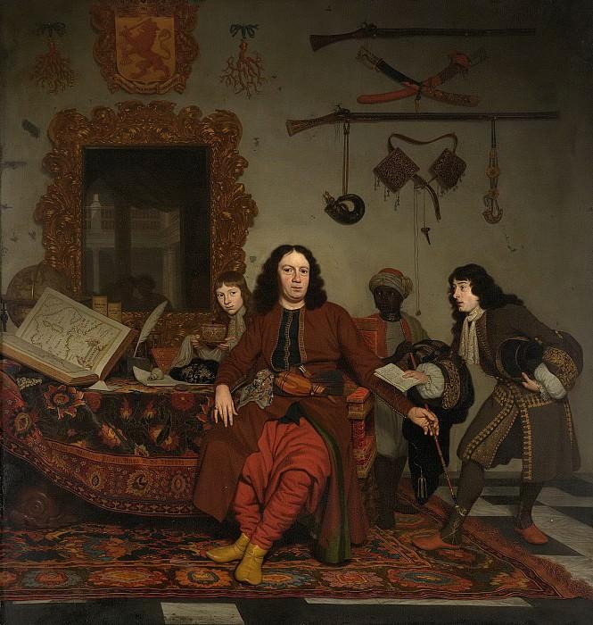 Musscher, Michiel van -- Thomas Hees (geb 1634-35). Resident en commissaris der Staten Generaal bij de regeringen te Algiers, 1687. Rijksmuseum: part 4