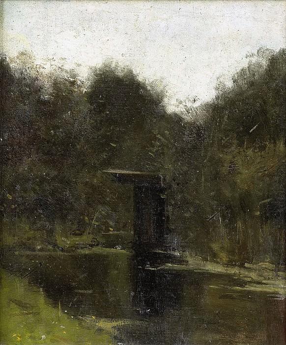 Roland Holst, Richard -- Vijverhoek bij Breukelen (1888), 1888. Rijksmuseum: part 4
