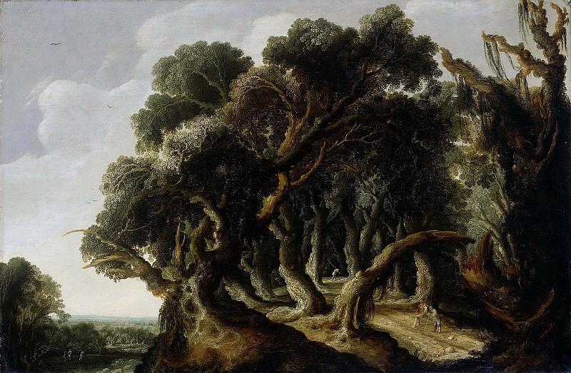 Geel, Jacob Jacobsz van -- Landschap, 1633. Rijksmuseum: part 4