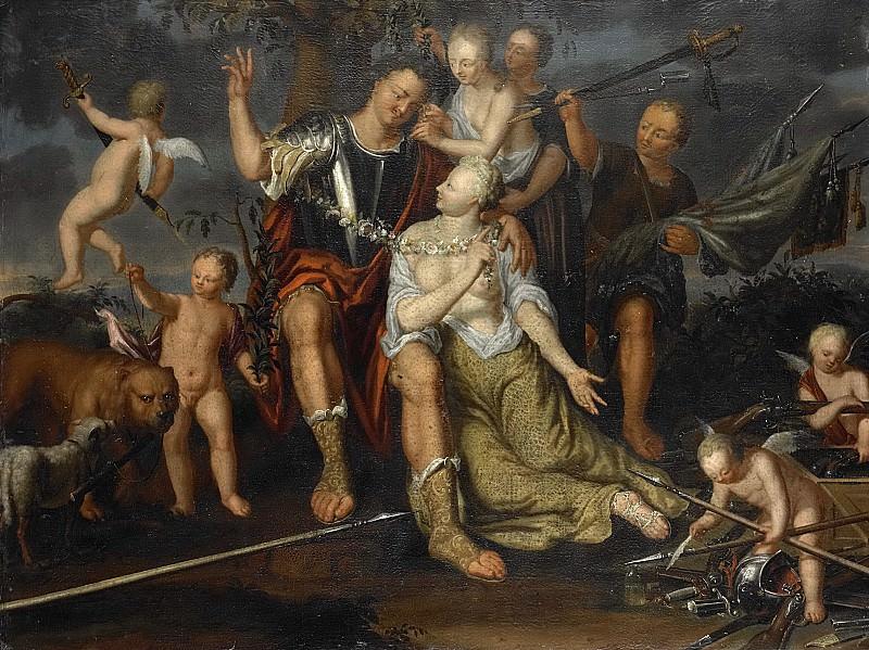 Kessel, (B.?) van -- Allegorie op de vrede, 1700-1725. Rijksmuseum: part 4