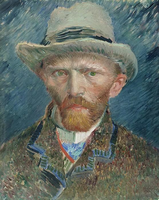 Винсент ван Гог -- Автопортрет, 1887. Рейксмузеум: часть 4