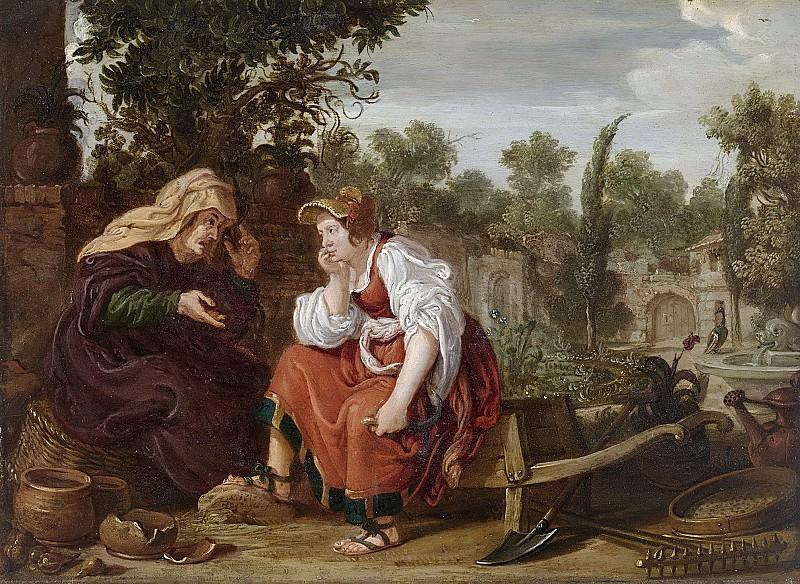 Ян Тенгнагель -- Вертумн и Помона, 1617. Рейксмузеум: часть 4