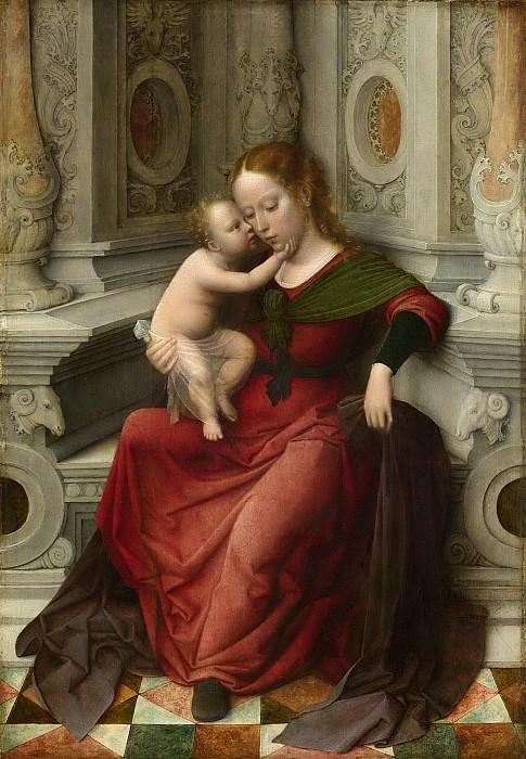 Isenbrant, Adriaen -- Maria met kind, 1530-1540. Rijksmuseum: part 4