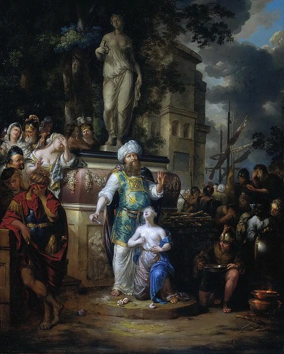 Houbraken, Arnold -- Het offer van Iphigenia, 1690-1700. Rijksmuseum: part 4