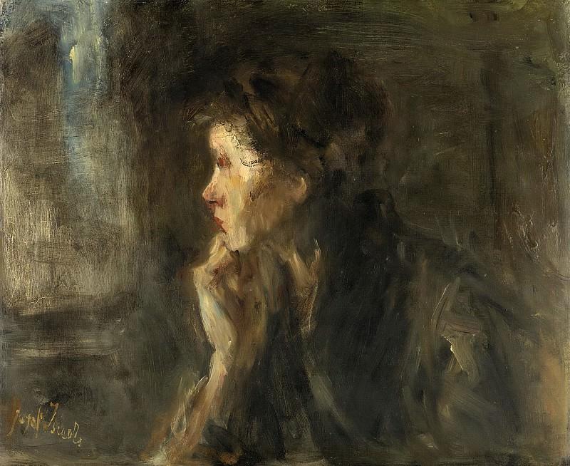 Israëls, Jozef -- Overpeinzing, 1896. Rijksmuseum: part 4