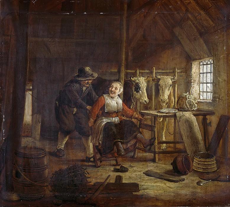 Camphuysen, Govert Dircksz. -- Vrijage in een koestal, 1645-1672. Rijksmuseum: part 4