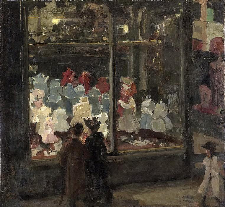 Israels, Isaac -- Etalage, 1894-1898. Rijksmuseum: part 4