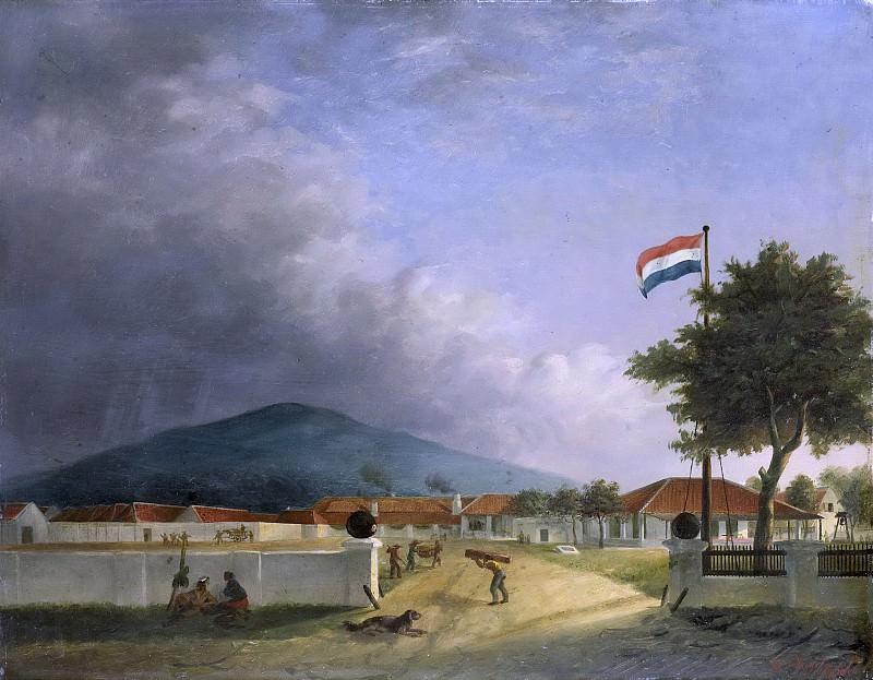 Hesselaar, H.Th. -- De suikerfabriek 'Kedawong' bij Pasoeroean op Java, 1849. Rijksmuseum: part 4