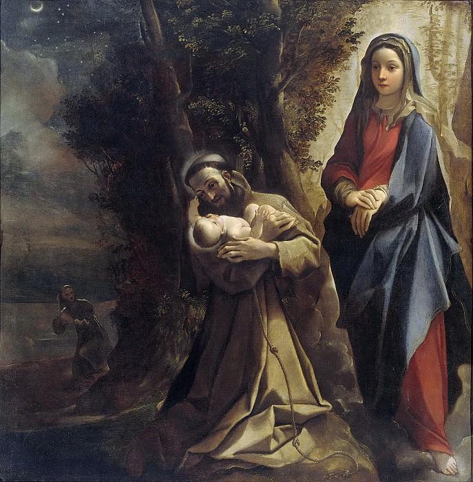 Carracci, Lodovico -- Het visioen van de heilige Franciscus van Assisi, 1583-1585. Rijksmuseum: part 4