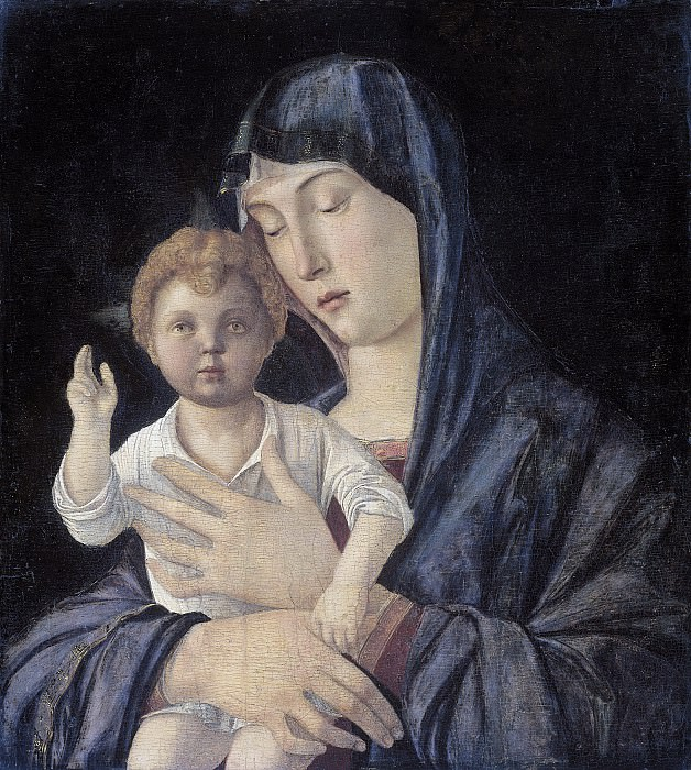Madonna and Child. Giovanni Bellini (attributed to)