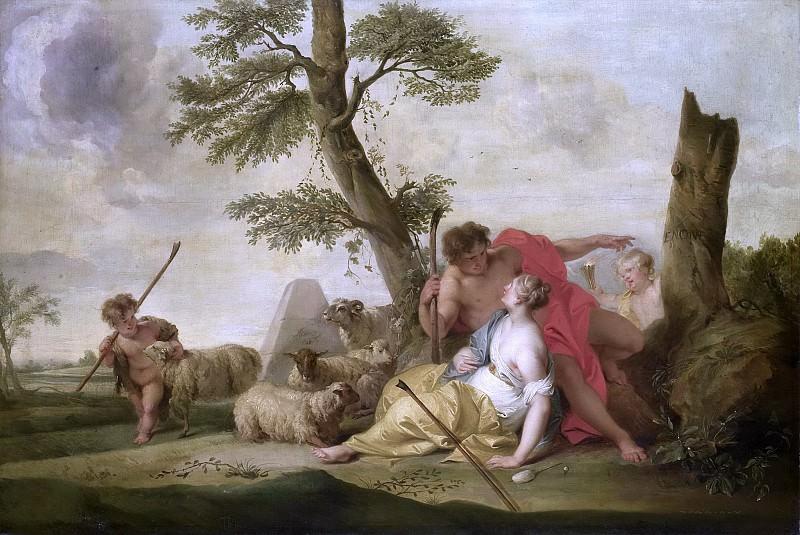 Wit, Jacob de -- Paris en Oenone, 1737. Rijksmuseum: part 4