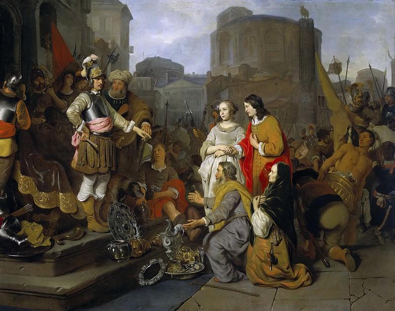 Eeckhout, Gerbrand van den -- De grootmoedigheid van Scipio, 1650-1655. Rijksmuseum: part 4