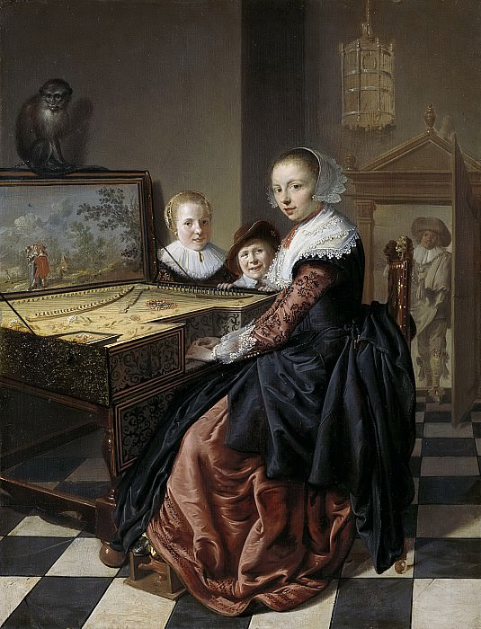 Molenaer, Jan Miense -- De virginaalspeelster, 1630-1640. Rijksmuseum: part 4