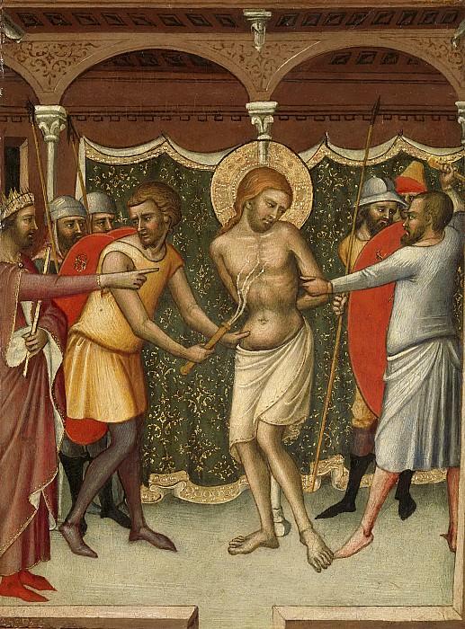 Luca di Tommè -- De geseling van Christus, 1365. Rijksmuseum: part 4