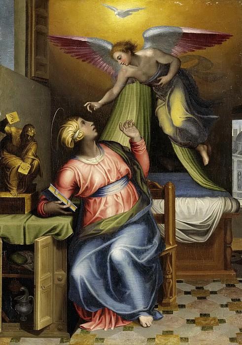 Venusti, Marcello -- De verkondiging aan Maria, 1550-1570. Rijksmuseum: part 4