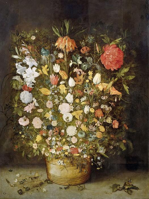 Brueghel, Jan (I) -- Stilleven met bloemen. Rijksmuseum: part 4