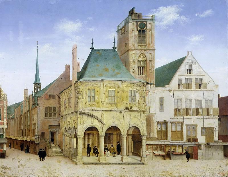 Saenredam, Pieter Jansz. -- Het oude stadhuis te Amsterdam, 1657. Rijksmuseum: part 4
