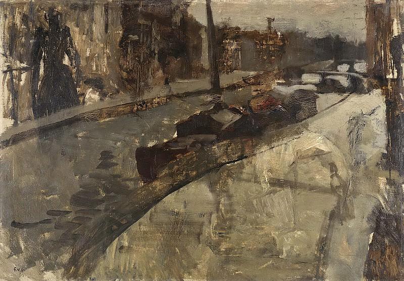 Breitner, George Hendrik -- De Prinsengracht bij de Lauriergracht, Amsterdam, 1880-1923. Rijksmuseum: part 4