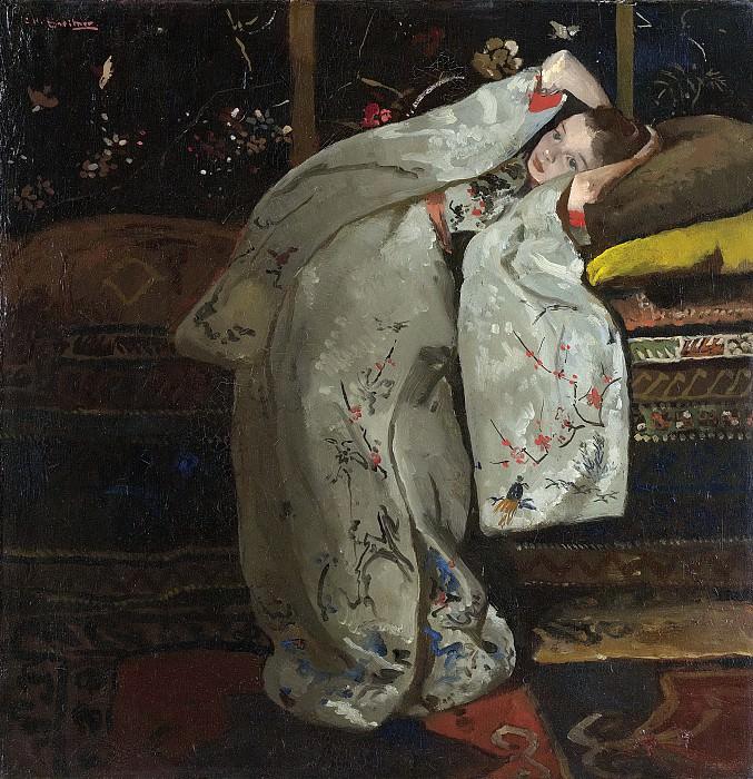 Breitner, George Hendrik -- Meisje in witte kimono, 1894. Rijksmuseum: part 4