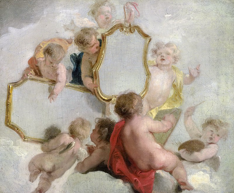 Wit, Jacob de -- Putti met spiegels, 1725-1744. Rijksmuseum: part 4