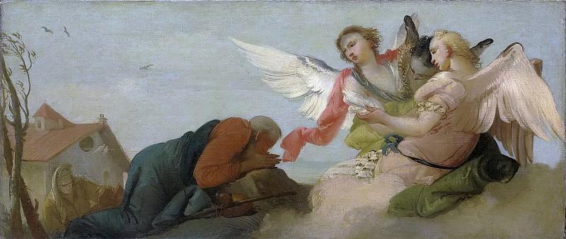 Zugno, Francesco -- Abraham en de drie engelen, 1750-1780. Rijksmuseum: part 4
