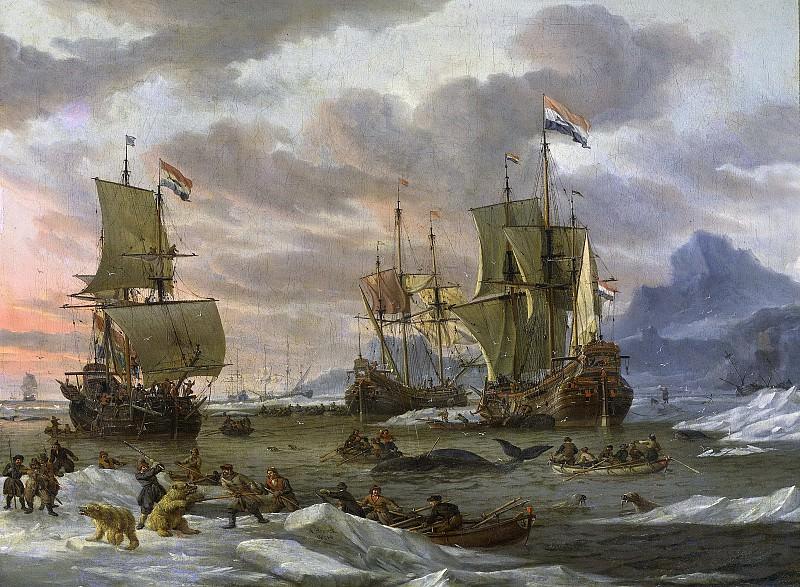 Storck, Abraham -- Walvisvangst, 1654-1708. Rijksmuseum: part 4