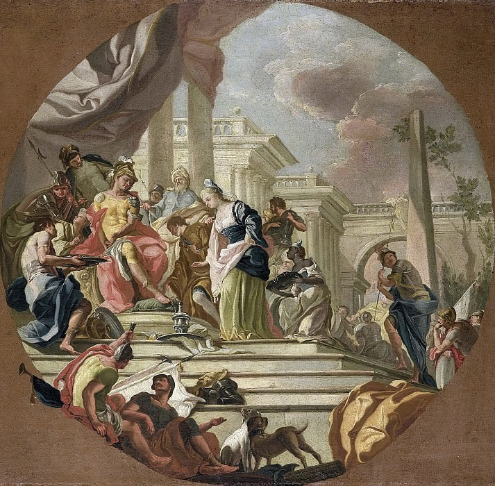 Diana, Giacinto -- De grootmoedigheid van Scipio, 1765-1770. Rijksmuseum: part 4