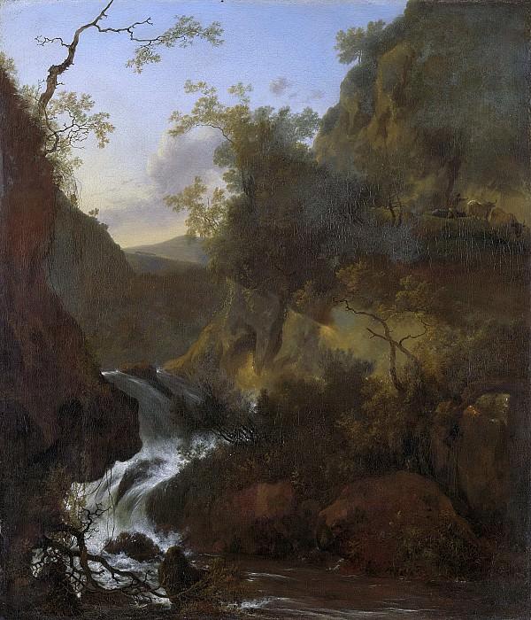 Pijnacker, Adam -- Een waterval, 1649-1673. Rijksmuseum: part 4