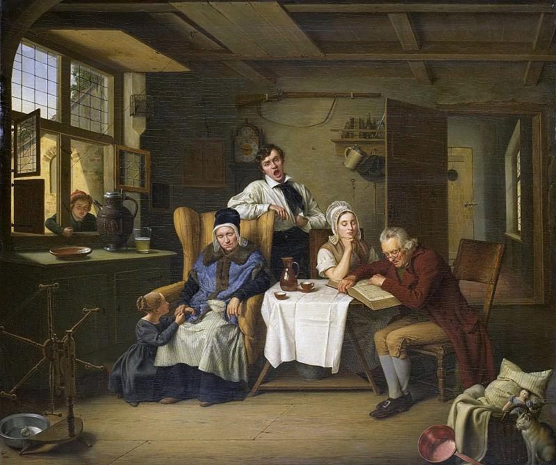 Pistorius, Eduard Karl Gustav Lebrecht -- Bijbellezen, 1831. Rijksmuseum: part 4