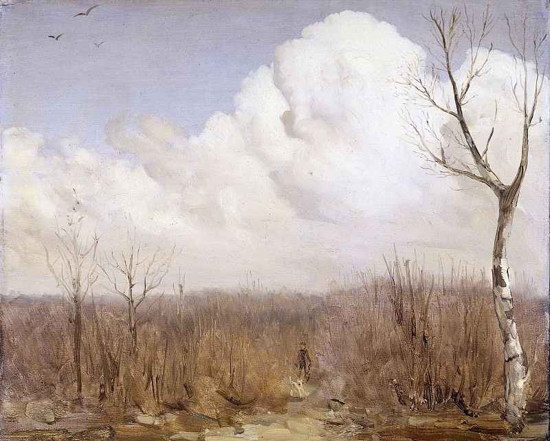 Dijsselhof, Gerrit Willem -- Najaarsdag, 1895-1915. Rijksmuseum: part 4