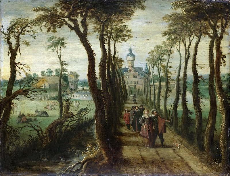 Vrancx, Sebastiaan -- De oprijlaan, 1600-1647. Rijksmuseum: part 4