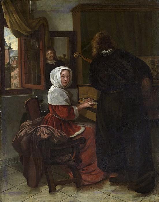 Man, Cornelis de -- Het musicerende paar, 1650-1710. Rijksmuseum: part 4