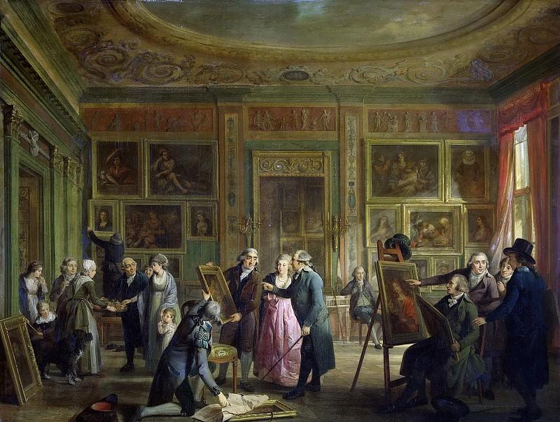 Lelie, Adriaan de -- De kunstgalerij van Josephus Augustinus Brentano in zijn huis aan de Herengracht te Amsterdam, 1790-1800. Rijksmuseum: part 4