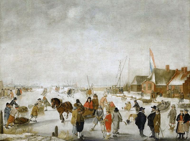 Avercamp, Barend -- IJsvermaak, 1630-1679. Rijksmuseum: part 4