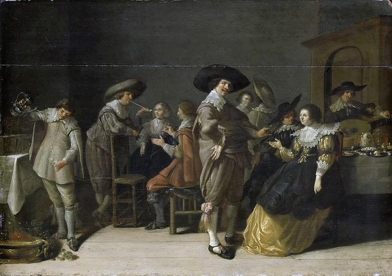 Palamedesz., Anthonie -- Voornaam gezelschap in een kamer, 1630. Rijksmuseum: part 4