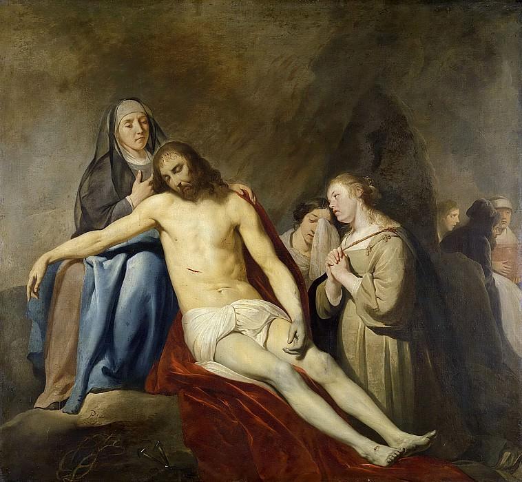 Grebber, Pieter Fransz. de -- De bewening van Christus, 1640. Rijksmuseum: part 4