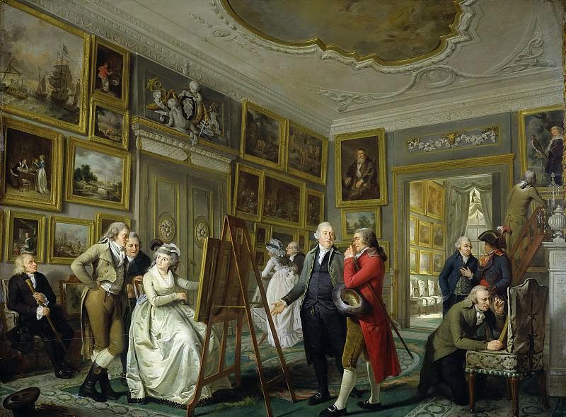 Lelie, Adriaan de -- De kunstgalerij van Jan Gildemeester Jansz in zijn huis aan de Herengracht te Amsterdam, 1794-1795. Rijksmuseum: part 4
