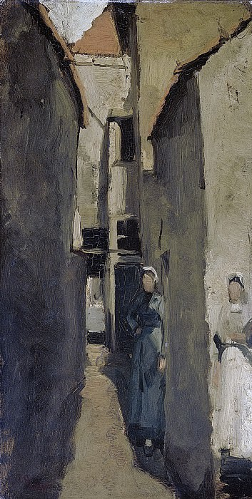 Breitner, George Hendrik -- Buurtje in Den Haag of Scheveningen, 1880-1923. Rijksmuseum: part 4