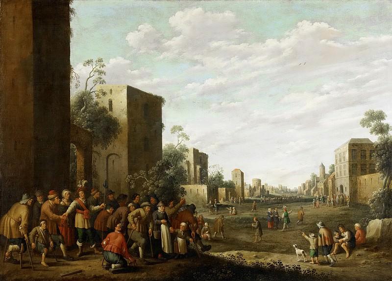 Droochsloot, Joost Cornelisz. -- Het huisvesten van de armen, 1647. Rijksmuseum: part 4