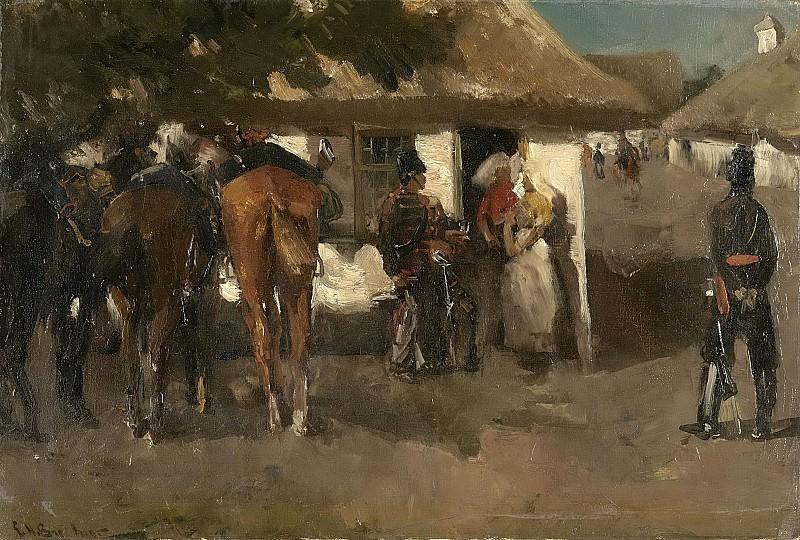 Breitner, George Hendrik -- Inkwartiering., 1880-1919. Rijksmuseum: part 4