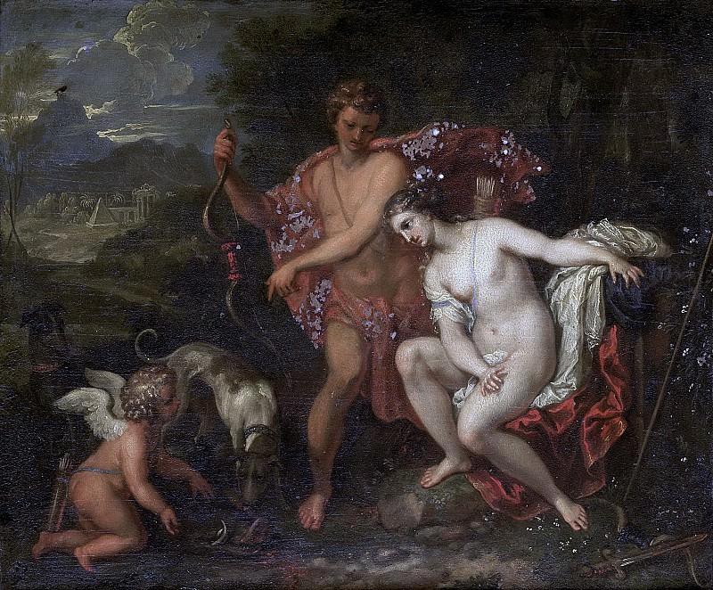 Неизвестный художник -- Мелеагр и Аталанта, 1675-1699. Рейксмузеум: часть 4
