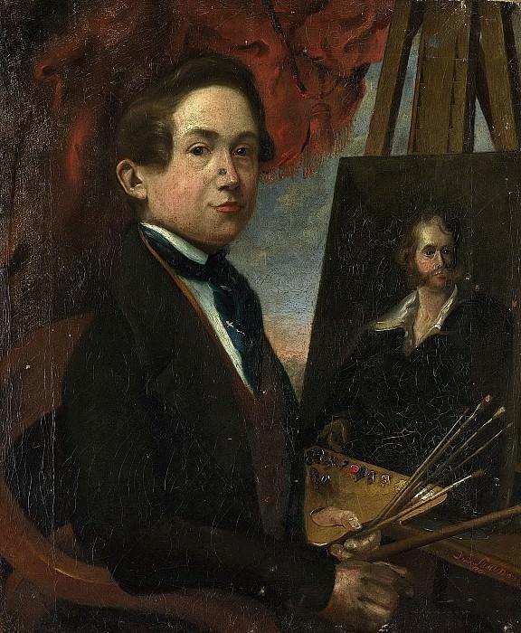 Susan, Johannes Daniël -- Zelfportret, 1839. Rijksmuseum: part 4