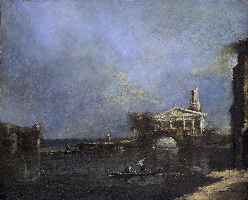 Guardi, Francesco -- Lagune bij Venetië, 1740-1800. Rijksmuseum: part 4