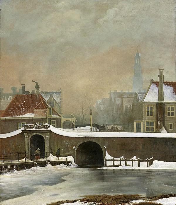 Troostwijk, Wouter Johannes van -- Het Raampoortje te Amsterdam, 1809. Rijksmuseum: part 4