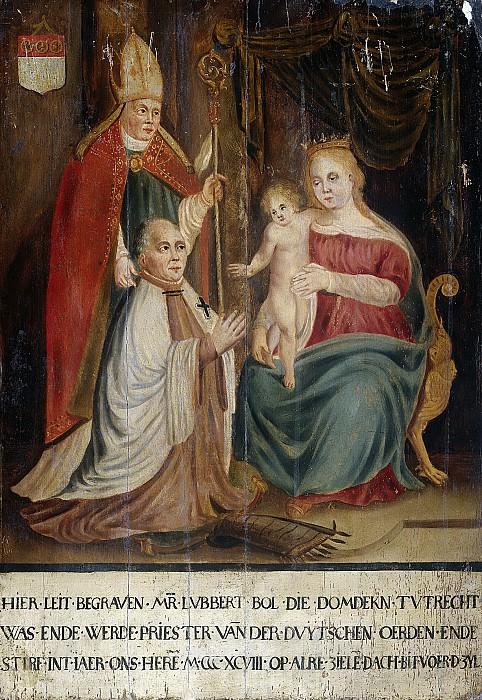 Unknown artist -- Memorietafel voor Lubbert Bolle (gest 1398), 1398-1424. Rijksmuseum: part 4