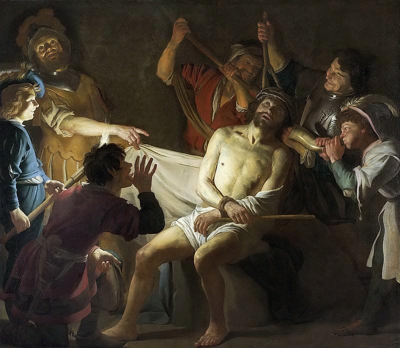 Honthorst, Gerard van -- De doornenkroning van Christus, 1622. Rijksmuseum: part 4