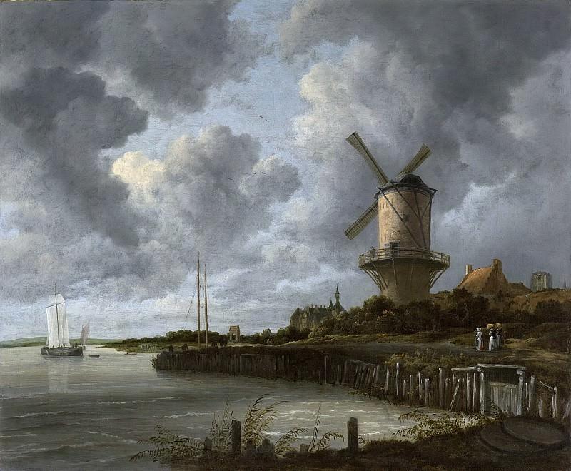 Якоб Исакс ван Рейсдаль -- Мельница возле квартала у Дурстеде, 1668-1670. Рейксмузеум: часть 4