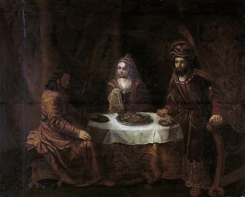 Eeckhout, Gerbrand van den -- De woede van Ahasverus, 1640-1724. Rijksmuseum: part 4