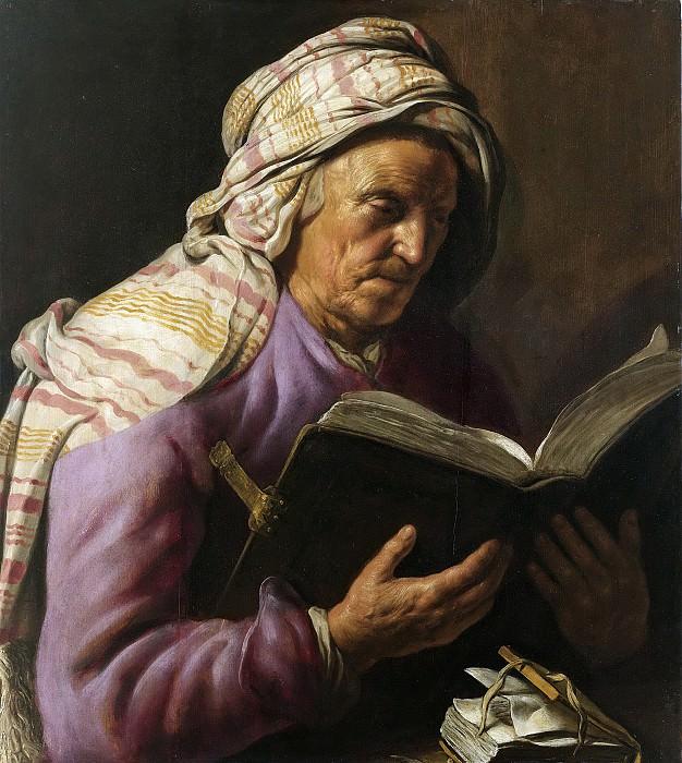 Lievens, Jan -- Lezende oude vrouw, 1626-1633. Rijksmuseum: part 4